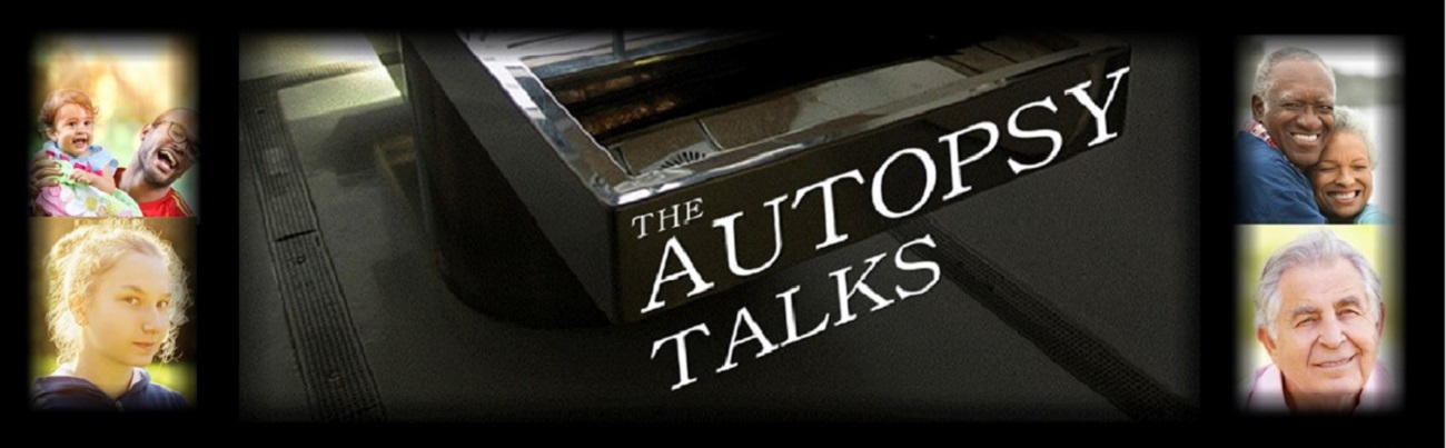 Autopsy Talks Website slide 2
