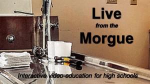 Live from morgue logo